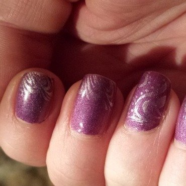 opi ds extravagance Swatch by lazy nail blogger