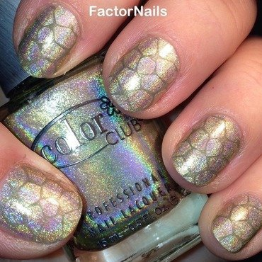 my turtle nail art nail art by Factornails