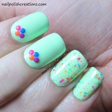 Polish me silly freckles studs thumb370f