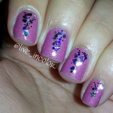 glitter nail art by kEElyN mARiN