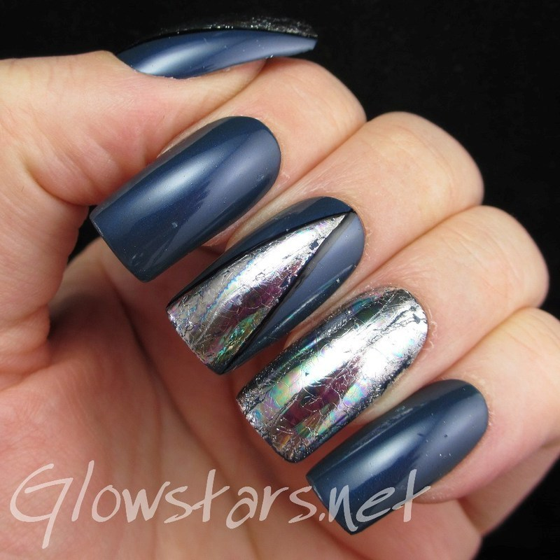 I will follow the sun through this dirty old town nail art by Vic 'Glowstars' Pires