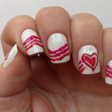 Inspirate en el AMOR nail art by Cris'