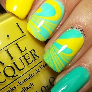 Lemon Twist! nail art by thenailguide