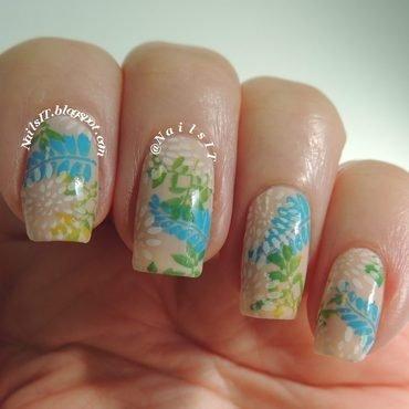 Ferns nail art by NailsIT