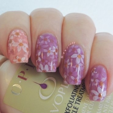 Pond manicure nail art by NailsIT
