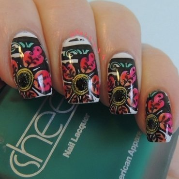 Leadlighting nail art by NailsIT