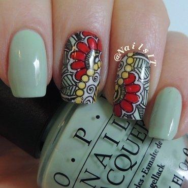 Advanced stamping nail art by NailsIT