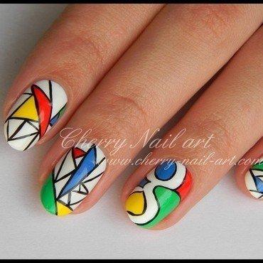 Nail art google nail art by Cherry Nail art