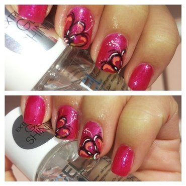 flowers nail art by Didi didireview