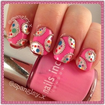 Dots, Dots and more Dots! nail art by Nicole Louise