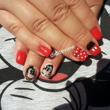 disney nails  nail art by Didi didireview