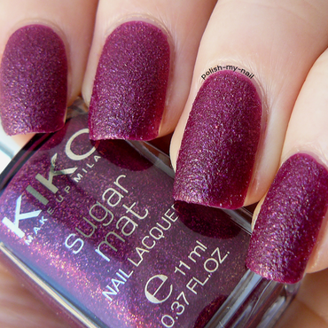 Kiko 454 Wine Swatch by Ewlyn