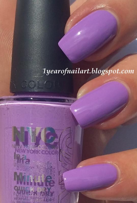 NYC Lavender Blossom Swatch by Margriet Sijperda
