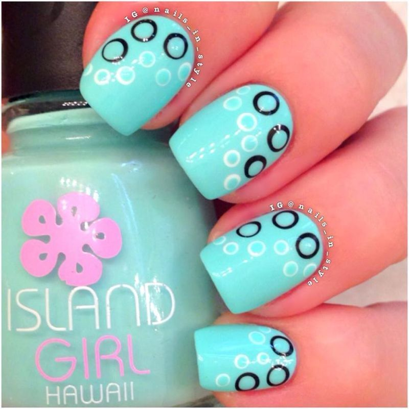 Bubbles! Bubbles! Bubbles!!! nail art by Nails_In_Style