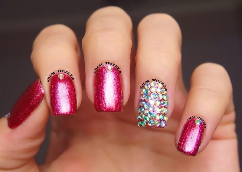 Dancing Nails nail art by Louise