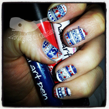 Winter top nail art by Cachalot