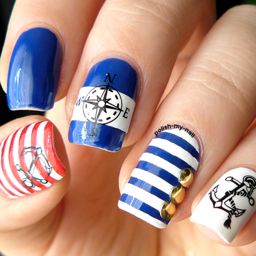 Avon royal vendetta swatches and nail art nailpolis museum of hey sailor nail art by ewlyn prinsesfo Gallery