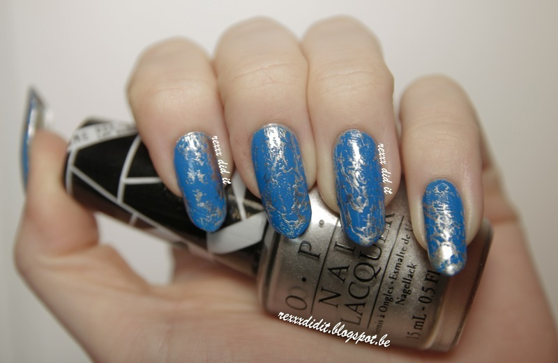 Ice Queen nail art by Robin