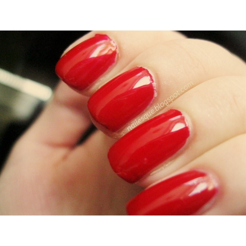 Nailtini Bloody Mary Swatch by Nailesque