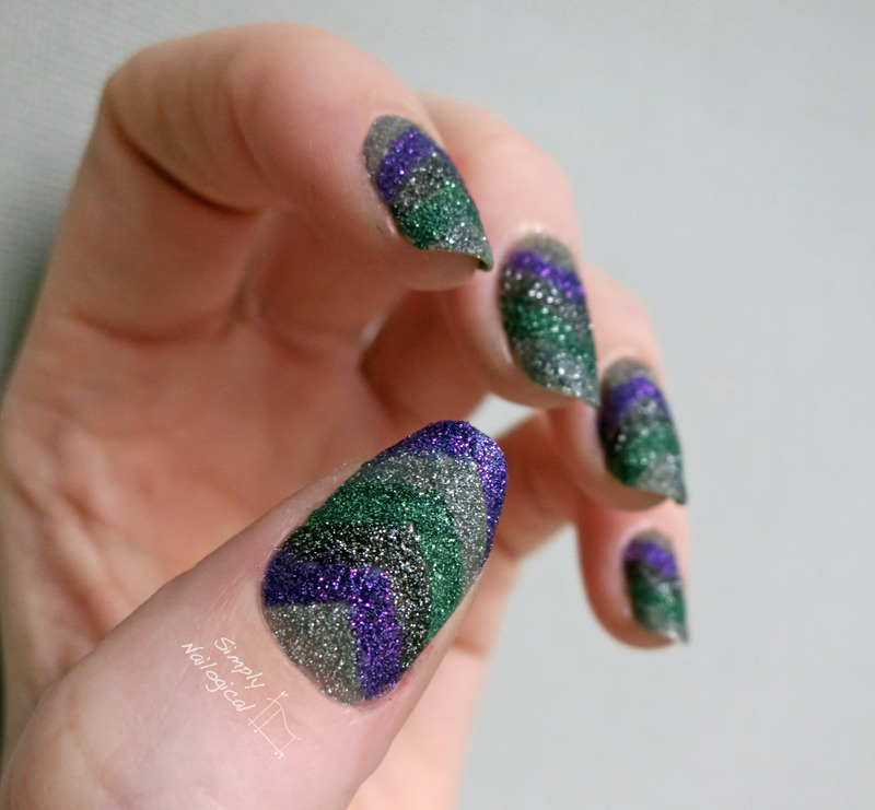 Pixie dust overload nail art by simplynailogical