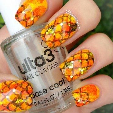 Goldfish Nails nail art by Brooke (babs)
