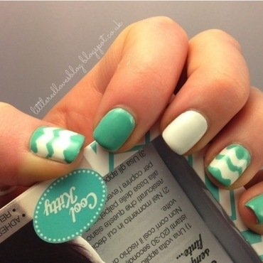 Eylure Inspired Nails nail art by Kimberley