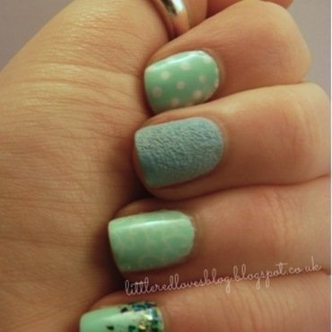 Barry M - Mix and Match nail art by Kimberley
