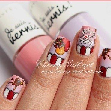 Nail art candy crush d grad  et bonbons 3 thumb370f