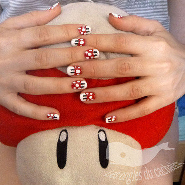 Please Grow up ! nail art by Cachalot