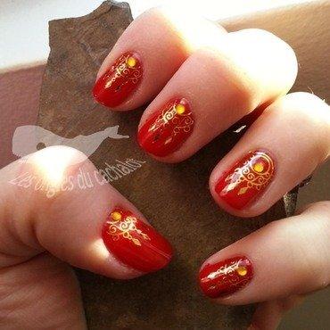 Suny india nail art by Cachalot