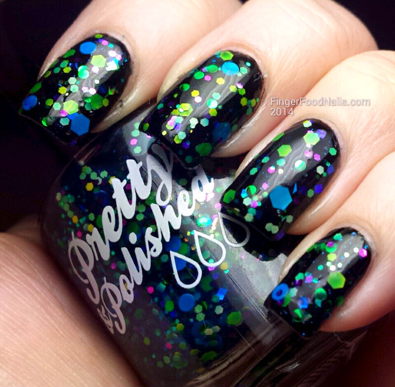 Pretty and Polished Da' Nile Isn't Just A River Swatch by Sam