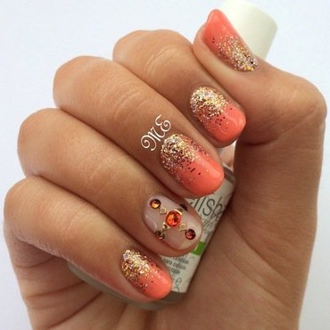 Grand Jewels nail art by Miriam