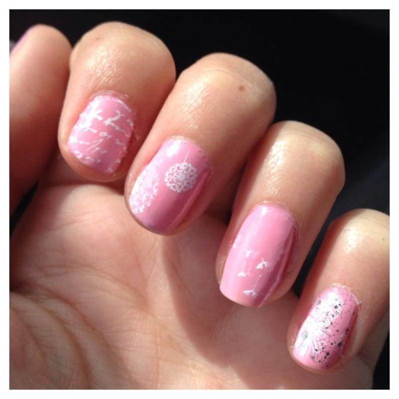 Du stamping au mojitos ! nail art by Dju Nails