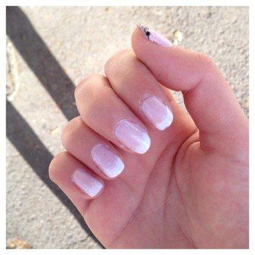 Essais de wedding nails nail art by Dju Nails
