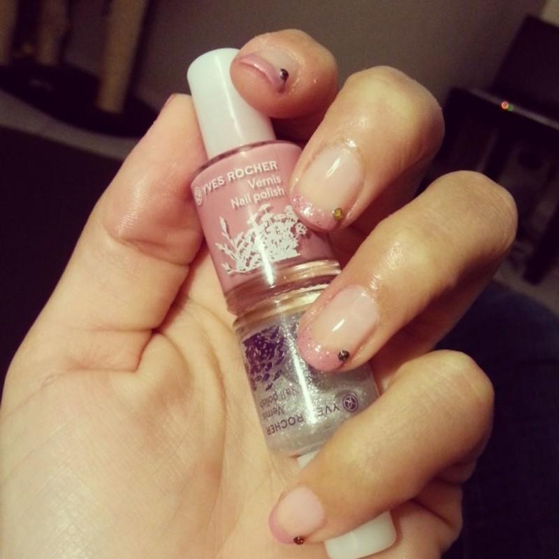 Manucure pour ma Boulie d'amour nail art by Dju Nails