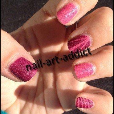 Nail art   lignes   kiko 452 454 thumb370f