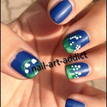 Nail Art : Muguet nail art by SowNails