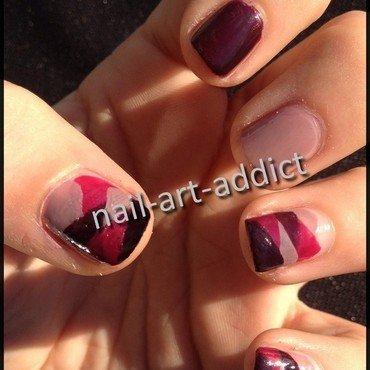 Nail art   braided nails   kiko 443 446 447  thumb370f