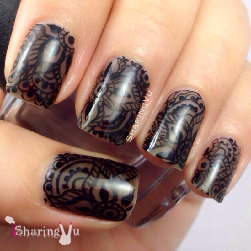 ♣️♣️Henna in da Nails♣️♣️ nail art by SharingVu