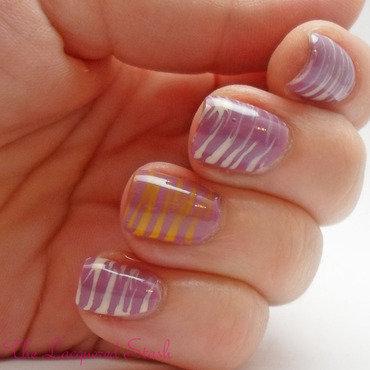 Fan Brush Nail Art nail art by Emma N.