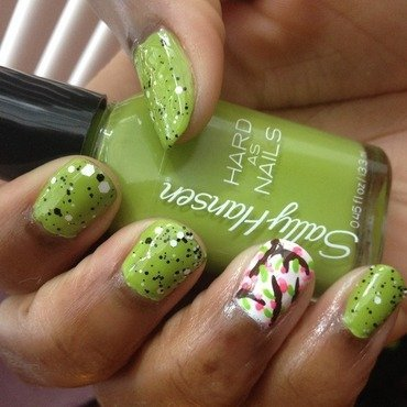 Rock Star Envy Blossom nail art by Reacee Wright