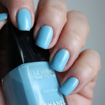 Chanel Coco Blue Swatch by Karo