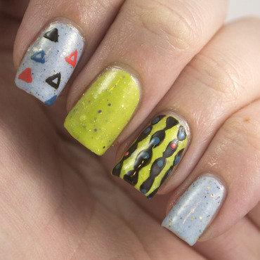 The never ending pile challenge skittles nail art 1 thumb370f