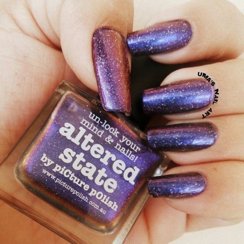 piCture pOlish Altered State Swatch by Uma mathur