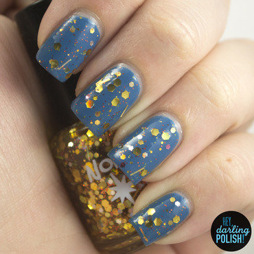 Zoya Breezi and Northern Star Polish Sunburst Swatch by Marisa  Cavanaugh