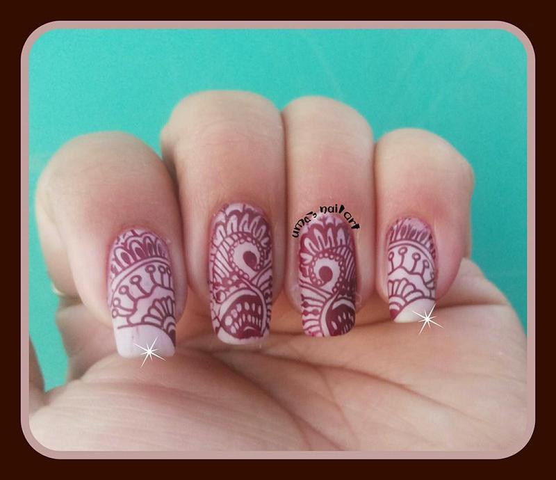 heena desigen nail art by Uma mathur
