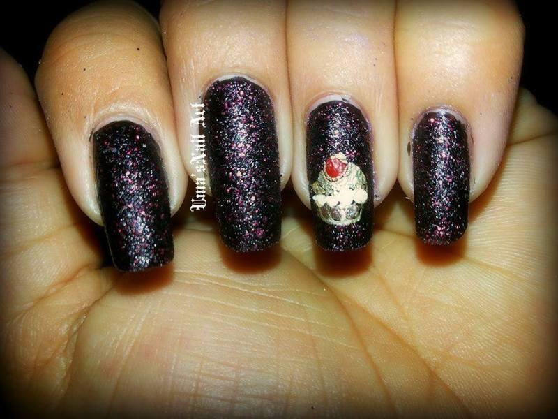 b'day nails nail art by Uma mathur