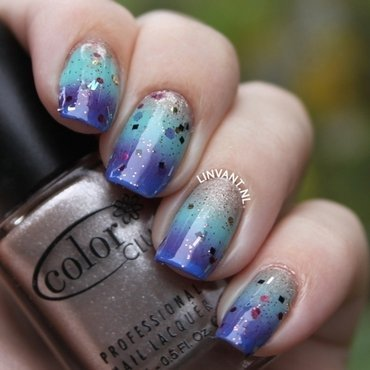 Because of Mermaids nail art by Lin van T