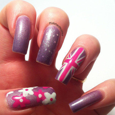 Summer in the UK nail art by Carrie