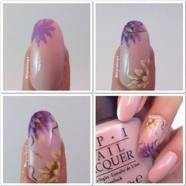 tutorial nail art by mynailnart
